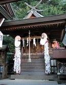 因島 大山神社、耳の神様もいる 一風変わった丘の上の神社