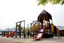 廿日市市 小田島公園、遊具も釣りも楽しい海沿いスポット