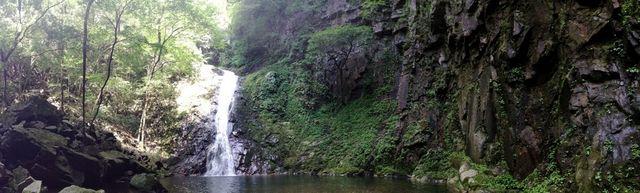 廿日市 万古渓 ふぶきの滝の画像