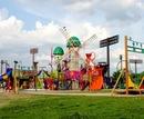 みよし運動公園 遊遊ランド、遊具がまるで遊園地!
