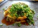 お好み焼きコバヤシ、キムチチャーハン入り庄原焼きってどんな味?