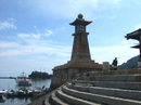 鞆の浦のシンボル 常夜燈(じょうやとう)、映画やドラマにも登場