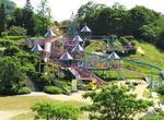 福山ファミリーパーク、大型遊具にクジャク・シカ園も!
