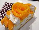 カフェコムサ 福屋広島駅前店オープン、鯉踊るカープ応援ケーキも