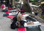 宮島で足湯、紅葉散歩に嬉しい菊乃家の無料サービス