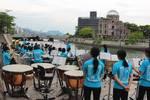 吹奏楽フェスティバル、広島で水辺のコンサート