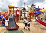 これはデカい!大竹市の晴海臨海公園に、巨大遊具が誕生
