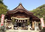 大頭神社(廿日市市大野)御朱印帳に妹背の滝、秋祭りには夜神楽も