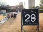 28CAFE、広島トヨペット廿日市の新店舗にカフェやホビースペースも