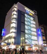 エディオン広島本店 ツインタワーオープンに向け新館が閉店