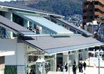 尾道駅、新駅舎をお披露目!グルメ・お土産・レンタサイクルに展望デッキも