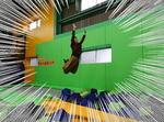 ゲットエア広島、室内トランポリンパーク施設は大人も夢中で遊べる