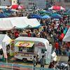 三原で地元グルメのマーケット「瀬戸内みはら 美味しいマーケー」駅前で開催