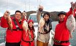 新春!カープ釣り自慢、縁起物の大物タイを釣り上げられるか?