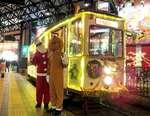 アナ雪2とコラボ!広電クリスマス電車2019
