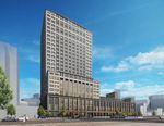 ヒルトン広島、地上22階建てホテルの2022年開業を目指す