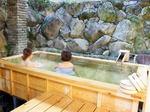 誠(まさ)の桧湯オープン、有吉弘行らが湯来温泉で手掛けたヒノキの露天風呂