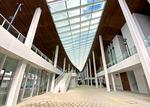 宮島口旅客ターミナルが完成!開放感あるフェリーターミナルは、千畳閣をイメージ