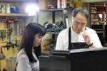 佐野史郎とAKB武藤十夢、映画「おかあさんの被爆ピアノ」広島ロケ