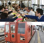 福塩線ワイン列車、地元ワイン飲み放題の旅