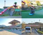 やまみ三原運動公園、野球・陸上・テニス・相撲から遊具・芝滑り台まで充実!