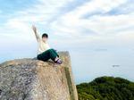王城・切石山公園の展望台へ!横島の山頂228mから見渡す瀬戸内ビュー