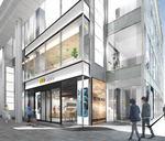 本通りヒルズに「auスタイル広島」ブルーリーフカフェ併設しオープン
