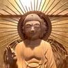 福山市・専光寺の阿弥陀如来像は「千の風になって」の秋川雅史さん制作
