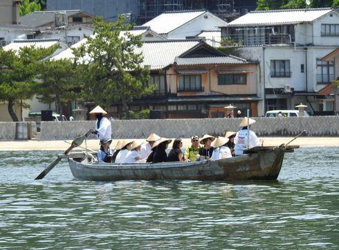 宮島の観光船