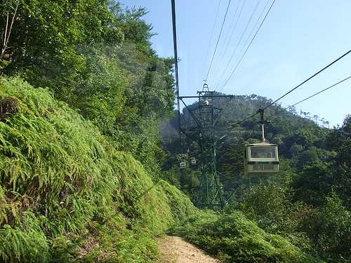宮島ロープウェイ眺め