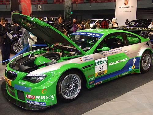 広島 輸入車ショー 2010、バットモービルがグリーンアリーナに登場!