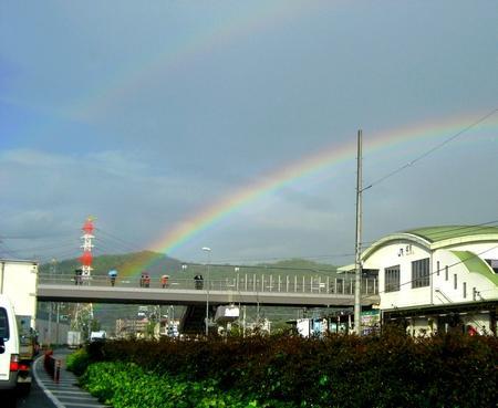 虹が2本!二重になるダブルレインボーは幸せのサイン