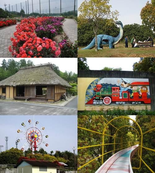 蜂ヶ峯公園は大人も子供も満喫できる巨大公園!250mの滑り台や動物との触れ合いも