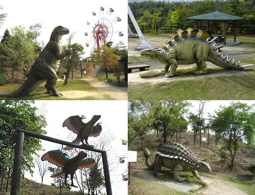 蜂ヶ峰公園 恐竜の森4