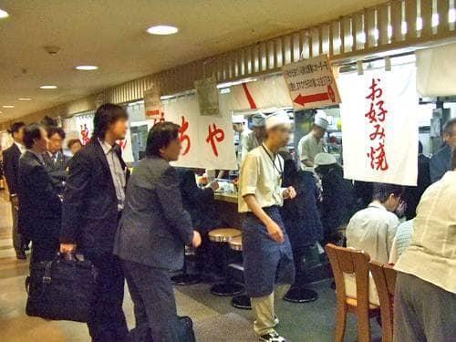 広島駅ビル お好み焼き 麗ちゃん 2