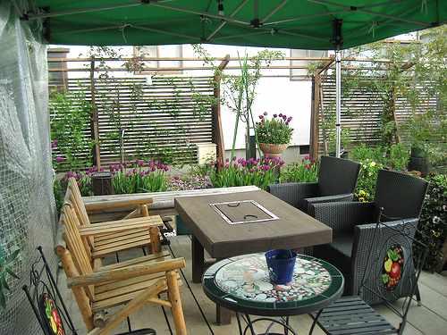 きままなターシャ 呉市焼山の花園カフェ