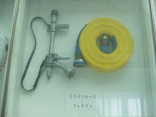 スケルトン消防署 展示室1