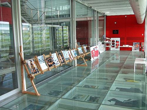 スケルトン消防署 展示室2
