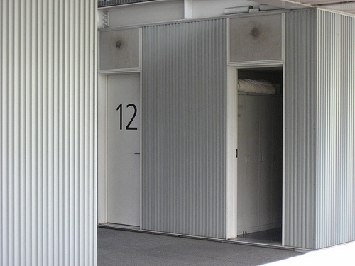 スケルトン消防署 仮眠室