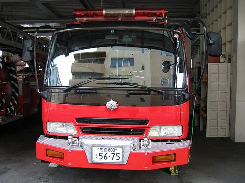 スケルトン消防署 消防車16
