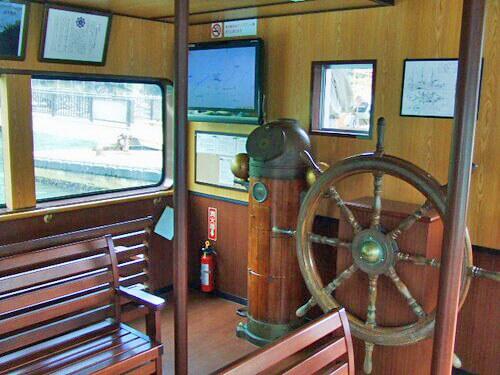 福山 鞆の浦 平成いろは丸、龍馬の乗った船で、仙酔島へ6