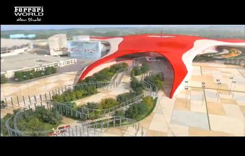 フェラーリ ワールドアブダビ、ドバイに フェラーリのテーマパーク!