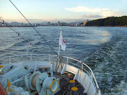 銀河 広島湾ナイトクルージングと宇品港