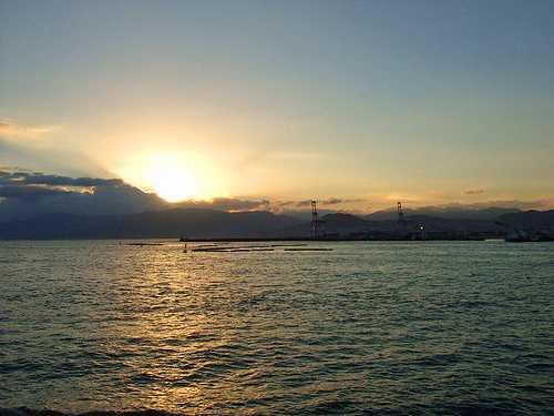 銀河 広島湾ナイトクルージング 停泊
