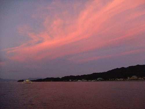 銀河 広島湾ナイトクルージング