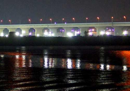 銀河 広島湾ナイトクルージングから見た夜景3