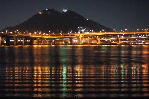 銀河 広島湾ナイトクルージングから見た夜景4