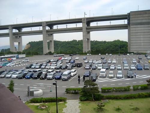 瀬戸大橋 与島パーキング駐車場
