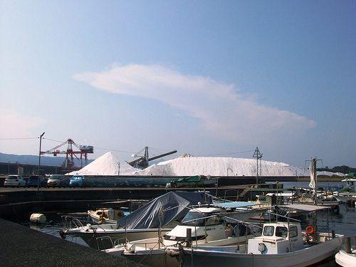 音戸 島全体が 塩の山 になっている三ツ子島10