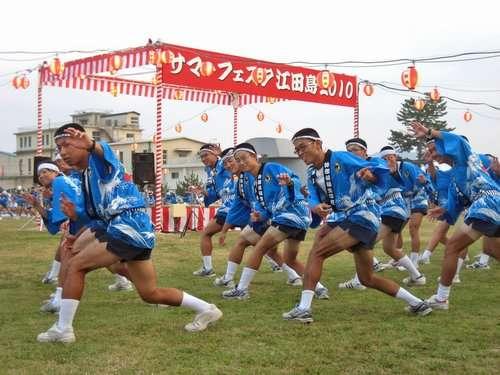 サマーフェスタ江田島、海軍兵学校の夏まつりに行ってきた